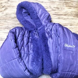 Hawke Outfitter Faux Fur Youth Jacket Size 14